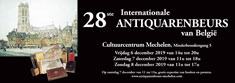 Internationale antiquarenbeurs Mechelen
