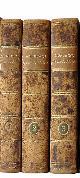 NORBERG, MATTHIAS:,  Selecta opuscula academica. Three volumes. Lund, Berlingianis, 1817-19.