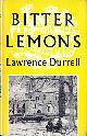 DURRELL, LAWRENCE, Bitter Lemons