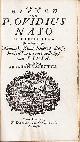 OVIDIUS NASO, P., Almanak, Klaag-liederen, droefheid in Pontus, en troost-digt aan Livia. Vertaalt door Abraham Valentyn. (Al de werken deel III).