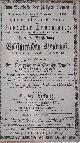 , Sammelband mit insgesamt 37 Ankündigungszetteln des Olympischen Circus der Gebrüder Tourniaire für Vorstellungen in Würzburg (3) und Frankfurt (24, sowie 10 Dubletten)..