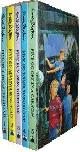 9780340587515 BLYTON, ENID, Famous Five Slipcase (1-5):  Five on a Treasure Island  ,  Five Go Adventuring Again  ,  Five Run Away Together  ,  Five Go to Smuggler's Top  ,  Five Go Off in a Caravan