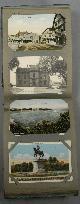 POSTCARD ALBUM, 134 Postcards, Mostly Massachusetts & New Hampshire, Circa 1935-1938