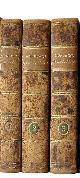 NORBERG, MATTHIAS:, Selecta opuscula academica. Three volumes. Lund, Berlingianis, 1817-19.