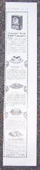 ADVERTISEMENT, 1916 Ladies Home Journal Advertisement for Sun Maid Raisins with Recipes