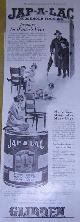 ADVERTISEMENT, 1916 Ladies Home Journal Jap-a-Lac Household Finishes Magazine Advertisement