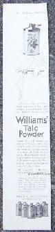 ADVERTISEMENT, 1916 Ladies Home Journal Advertisement for Williams' Talc Powder