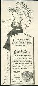 ADVERTISEMENT, 1916 Ladies Home Journal Advertisement for Marinello Face Powder