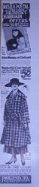 ADVERTISEMENT, 1916 Ladies Home Journal Philipsborn Outer Garment Magazine Advertisement