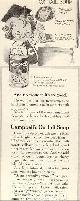ADVERTISEMENT, 1916 Ladies Home Journal Campbell's Ox Tail Soup Magazine Advertisement