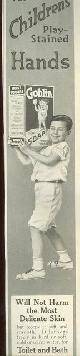 ADVERTISEMENT, 1915 Ladies Home Journal Goblin Soap Magazine Advertisement