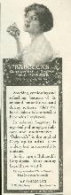 ADVERTISEMENT, 1916 Ladies Home Journal Babcock's Corylopsis of Japan Talc Powder Magazine Advertisement