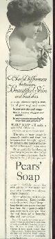 ADVERTISEMENT, 1915 Ladies Home Journal Pear's Soap Magazine Advertisement