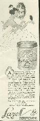 ADVERTISEMENT, 1917 Ladies Home Journal Lazell Pefumer Creme de Meridor Advertisement
