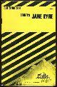 0822006723 SNODGRASS, MARY ELLEN, Cliffs Notes on Bronte's Jane Eyre