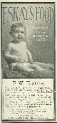 ADVERTISEMENT, 1901 Ladies Home Journal Eskay's Food Magazine Advertisement