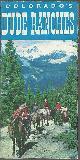 ADVERTISEMENT, Souvenir Brochure for Colorado's Dude Ranches