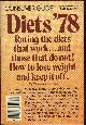 BERLAND, THEODORE, Diets '78 Rating the Diets That Work and Those Do Not.