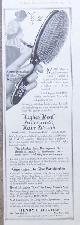 ADVERTISEMENT, 1917 Ladies Home Journal Advertisement for Hughes Ideal Waterproof Hair Brush