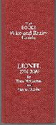 MCCOMAS, TOM AND JAMES TUOHY, Lionel Price and Rarity Guide 1970-1989