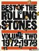 DIVERSE AUTEURS, Best of the Rolling Stones volume two: 1972-1973