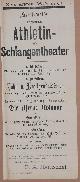 , Hentschel`s preisgekröntes Athletin- und Schlangentheater..