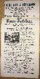 , Heute Samstag den 26. April 1862: Grosse ausserordentliche Extra-Gala-Vorstellung und zwar Damen-Vorstellung, wobei die Damen die Stallmeister Stellen vertreten, Schulpferde reiten und vorführen..