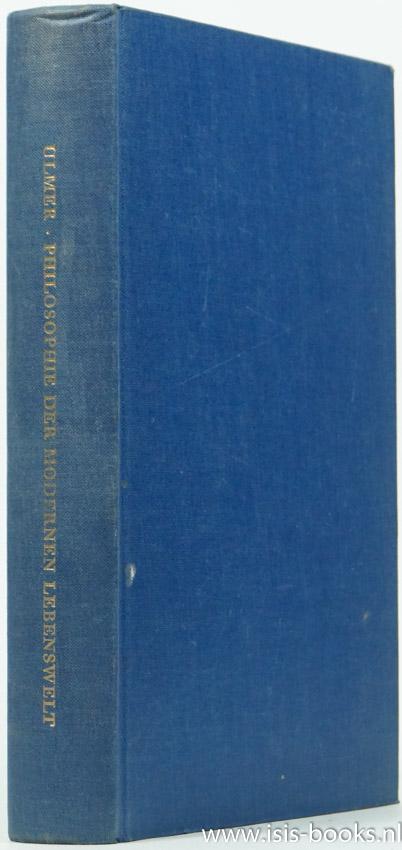 ULMER, K. - Philosophie der modernen Lebenswelt.