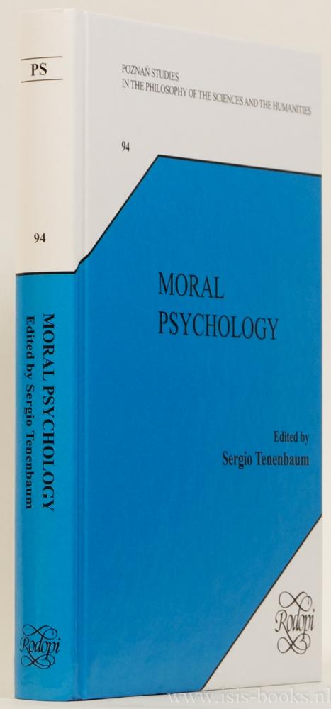TENENBAUM, S., (ED.) - Moral psychology.