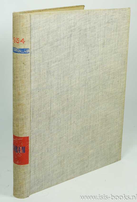 FORUM - Forum. Maandblad voor archtectuur en gebonden kunst. Negende jaargang 1954.