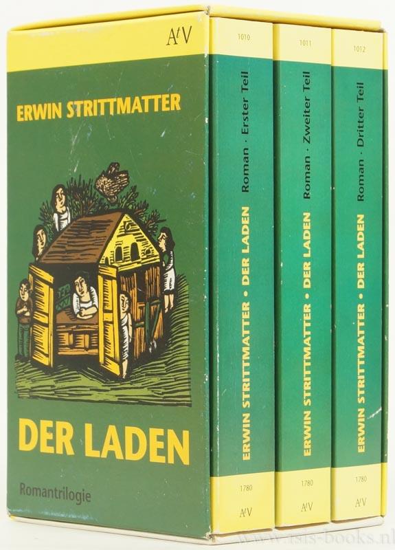 STRITTMATTER, ERWIN - Der Laden. 3 volumes.