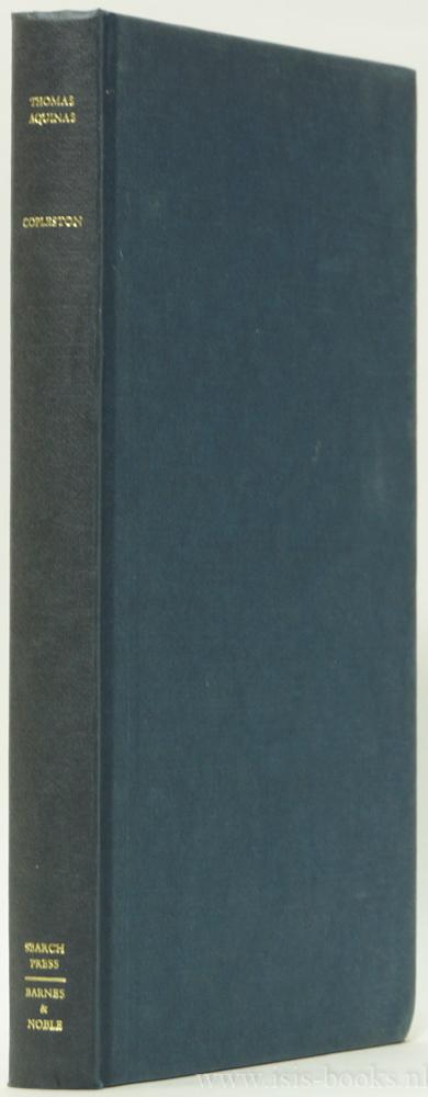 THOMAS OF AQUINO, THOMAS VAN AQUINO, COPPLESTON, T. - Thomas Aquinas.