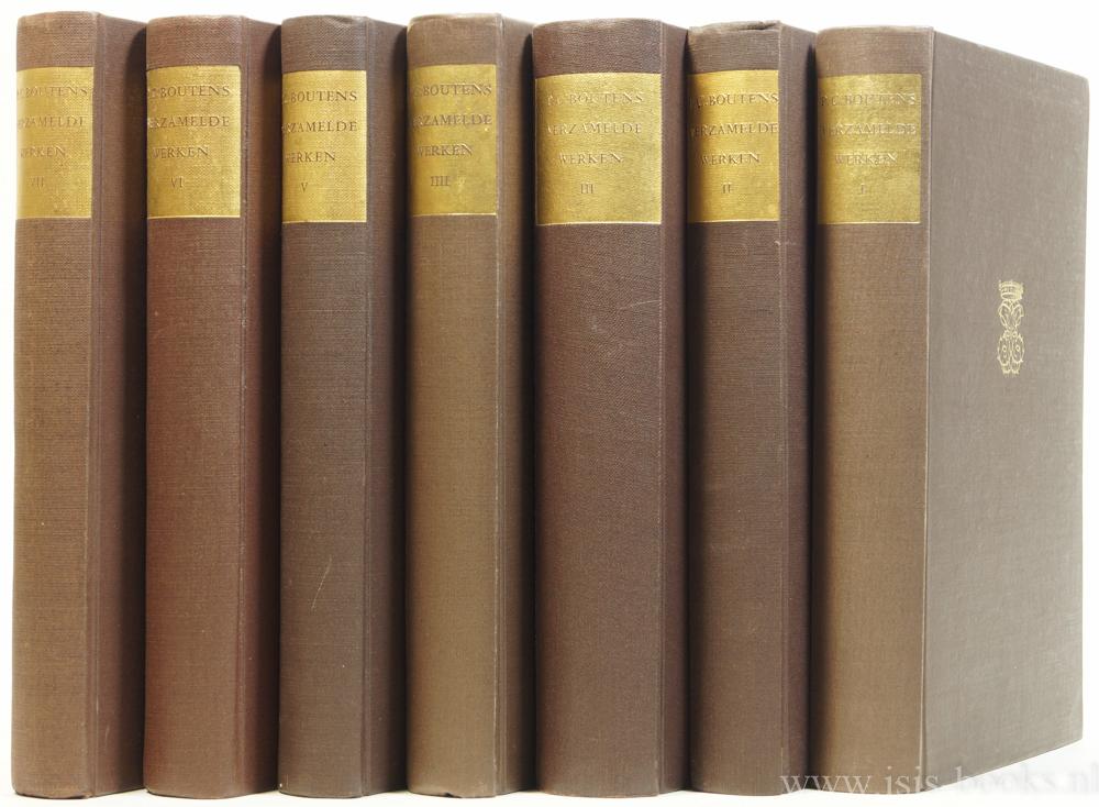 BOUTENS, P.C. - Verzamelde werken. Compleet in 7 delen.