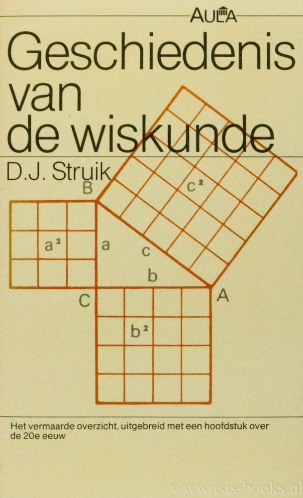STRUIK, D.J. - Geschiedenis van de wiskunde.