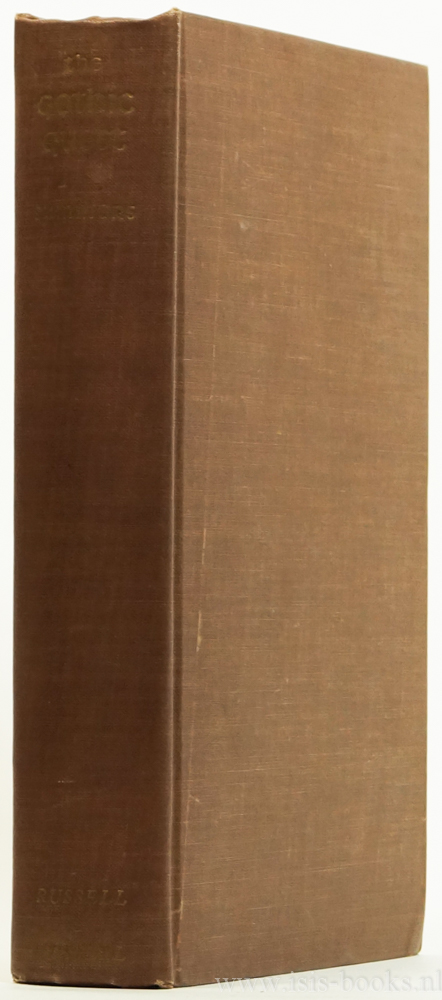 SUMMERS, M. - The gothic quest. A history of the gothic novel.