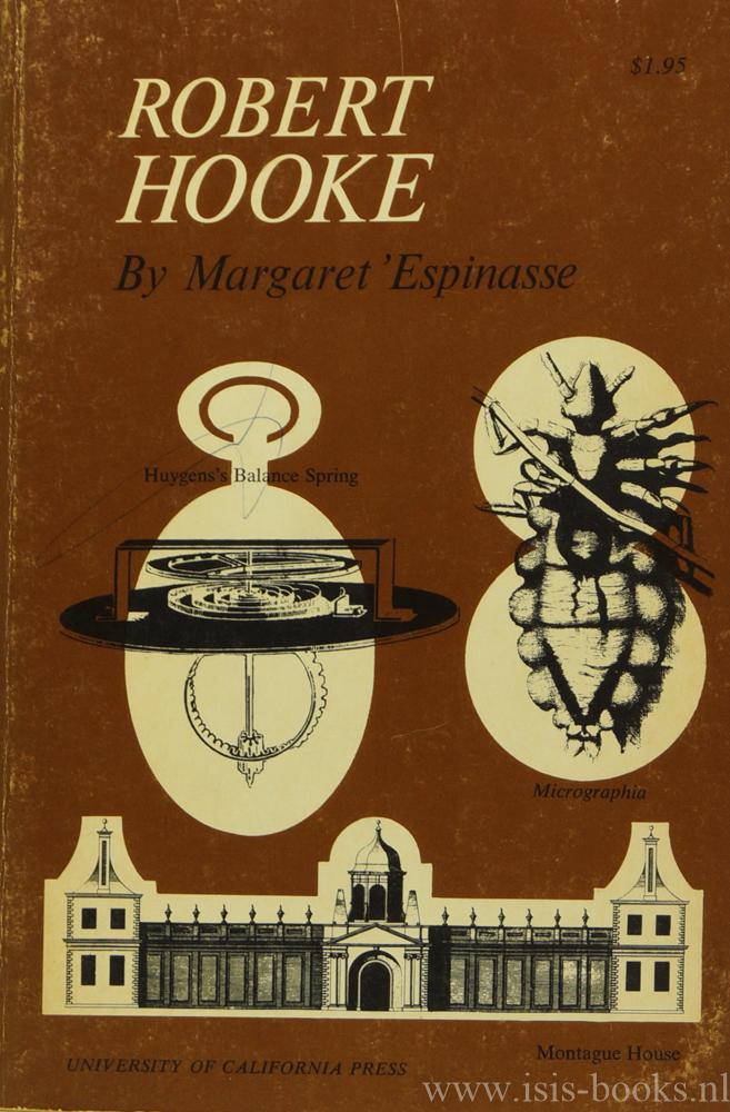 HOOKE, R., ESPINASSE, M. - Robert Hooke.