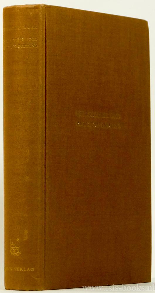 ZIMMER, H. - Philosophie und Religion Indiens. Ins Deutsche übertragen und herausgegeben von Lucy Heyer-Grote.