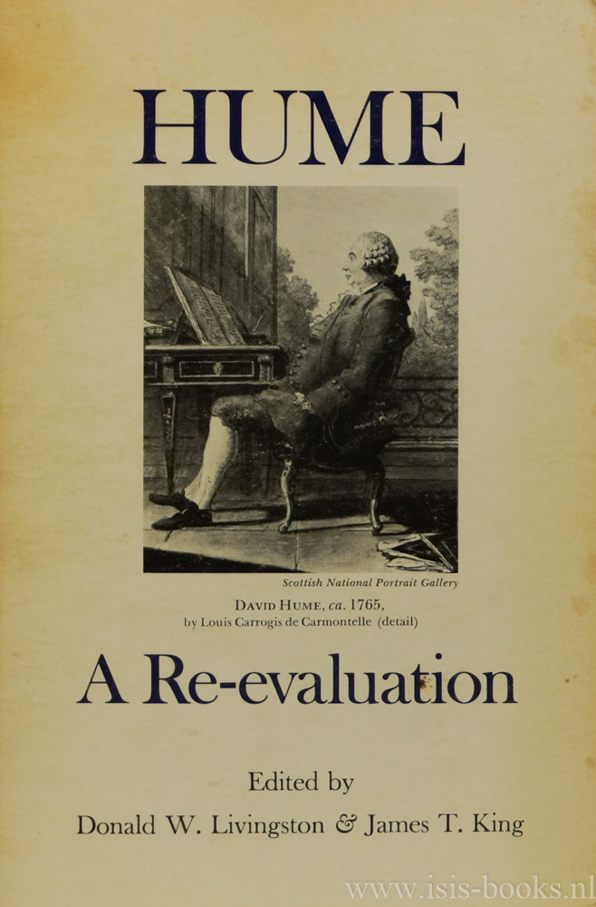 HUME, D., LIVINGSTON, D.W., KING, J.T., (ED.) - Hume. A re-evaluation.
