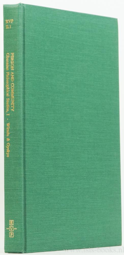 WIREDU, K., GYEKYE, K. - Person and community. Chanaian philosophical studies I.