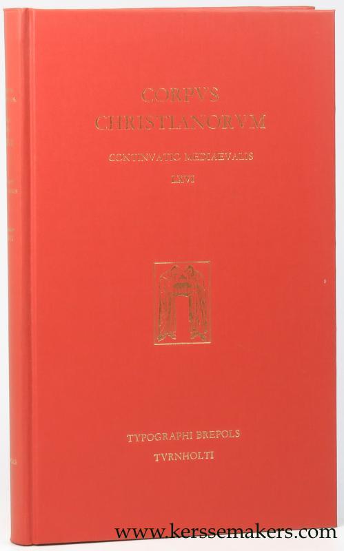 GUIBERTUS GEMBLACENSIS / DEROLEZ, A. / E. DEKKERS / R. DEMEULENAERE (EDS.). - Epistolae quae in codice B. R. Brux. 5527-5534 inveniuntur.