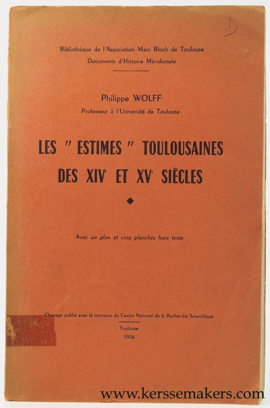 WOLFF, PHILIPPE. - Les