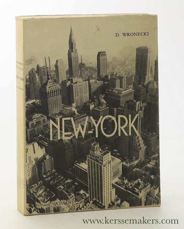 WRONECKI, D. - New-York.