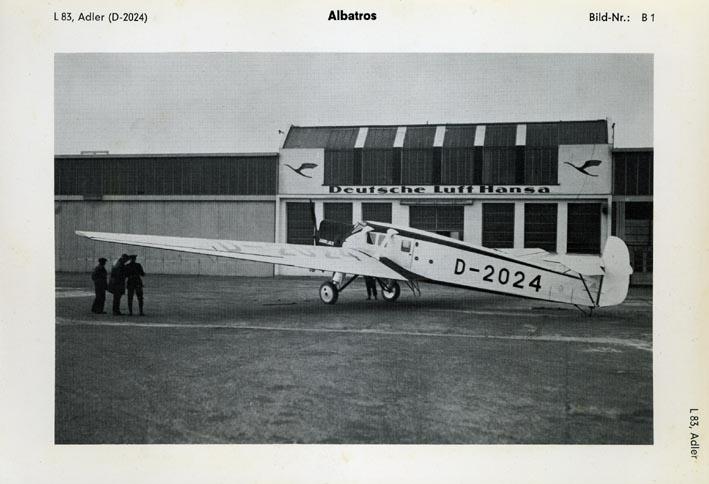 ALBATROS. - L-83, Adler, D-2024.