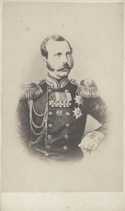 ALEXANDER II. - Portrait of Alexander II.