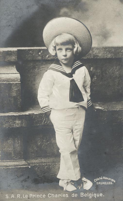 ALEXANDRE. - Les Prince Charles de Belgique.