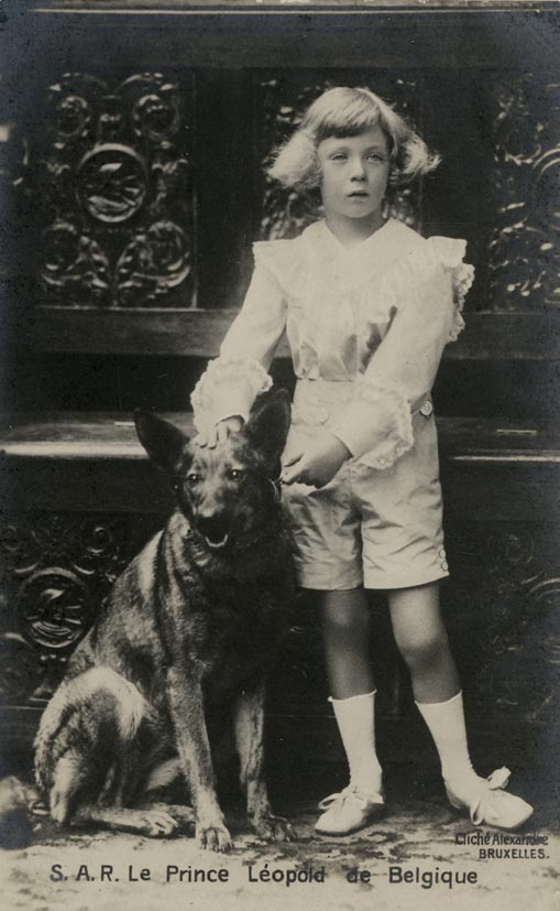 ALEXANDRE, CLICHÉ. - Prince Léopold de Belgique.