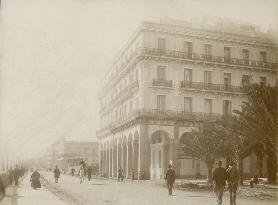 ALGER. - Hotel d'Europe.