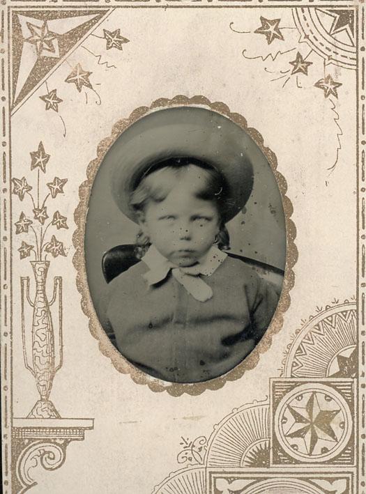 AMERICAN STAR GEM, THE. - Portrait of a little boy.