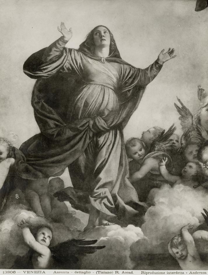 ANDERSON. - Venezia. Assunta - dettaglio - (Tiziano).