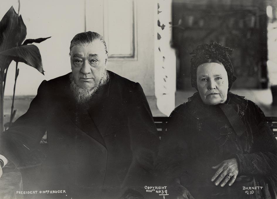 BARNETT. - President & Mrs. Kruger.